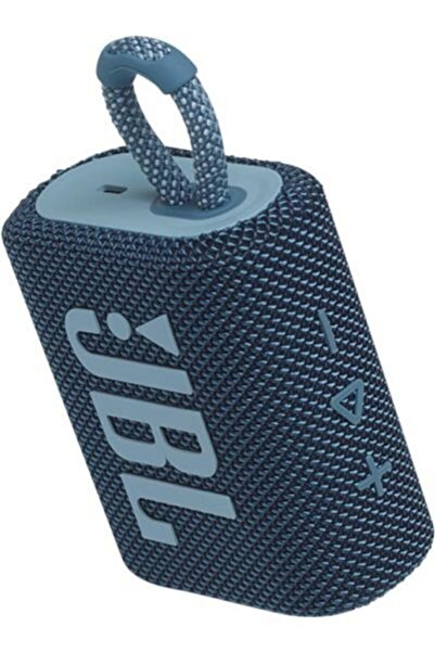 JBL Go3,ıpx7 Taşınabilir Bluetooth Hoparlör, Mavi