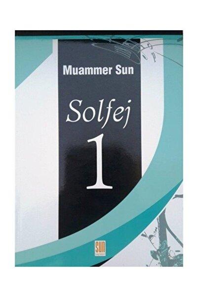 Sun Yayınevi Solfej 1-cd'siz - Muammer Sun