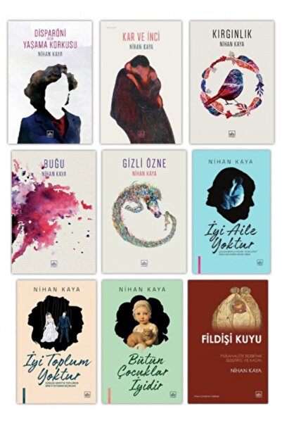 İthaki Yayınları Nihan Kaya 9 Kitap Takım