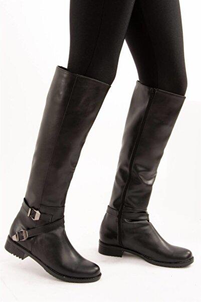 Fox Shoes Siyah Kadın Çizme E726203409