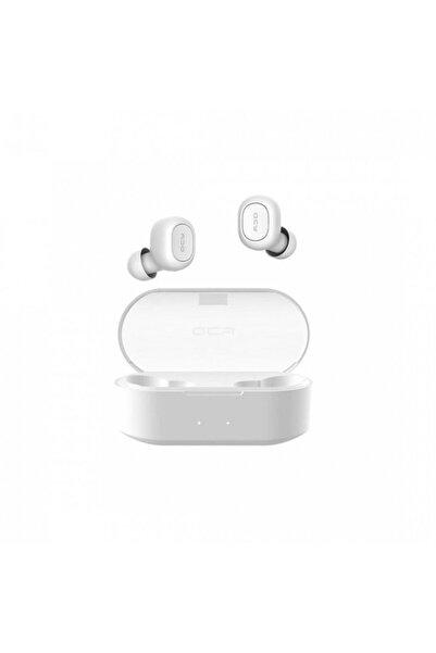 QCY T1s (t2c) Çift Mikrofonlu Bluetooth Kulaklık V5.0- Beyaz