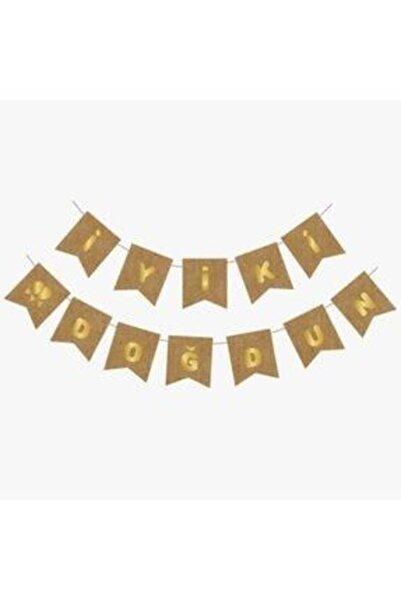 canbayhobi Kraft-Gold Iyiki Doğdun Banner
