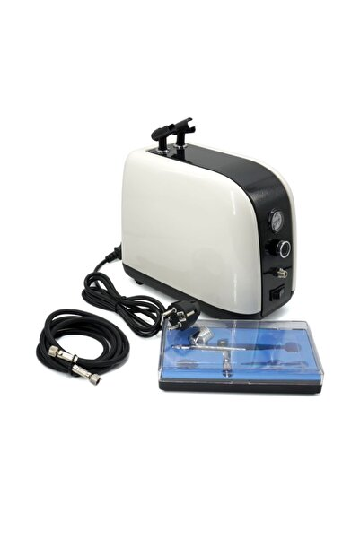 Rox Pro Rox 0067 Profesyonel Airbrush Kompresör Mini Boya Tabancası Seti