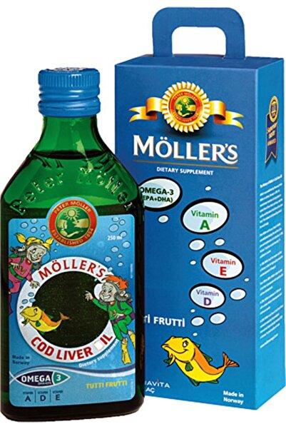 Mollers Omega-3 Tutti Frutti Balık Yağı Şurubu 250 ml