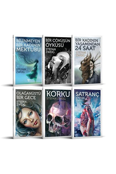 Halk Kitabevi Stefan Zweig Seti (6 Kitap Takım)