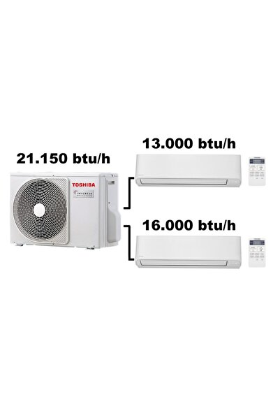 Toshiba Multi Klima 13000 Btu Ve 16000 Btu Iç Üniteli