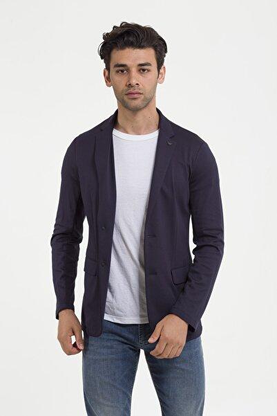 Emporio Armani Erkek Mavi Blazer Ceket