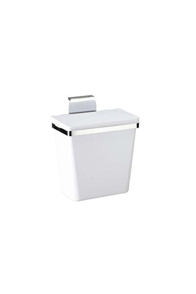 Pelikan Miko Metal Askılı Mutfak Çöp Kovası 11lt-beyaz
