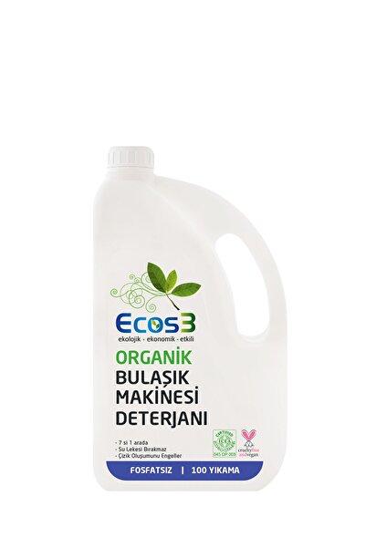 Ecos3 Organik Otomatik Bulaşık Makinası Jeli 100 Yıkama)