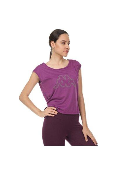 Kappa Kadın Mor T-Shirt