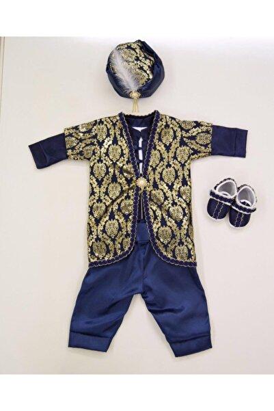 prince baby Erkek Bebek Lacivert Mevlüt Kıyafeti
