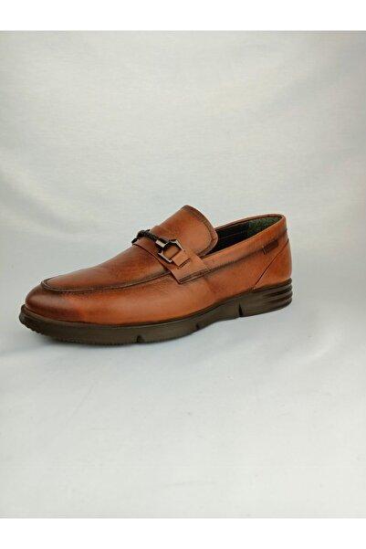 PUNTO Erkek Taba Deri Ayakkabı