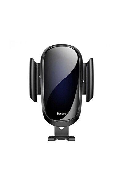 Baseus Siyah Future Gravity Serisi Cam Yüzey Araç İçi Havalandırma Telefon Tutucu