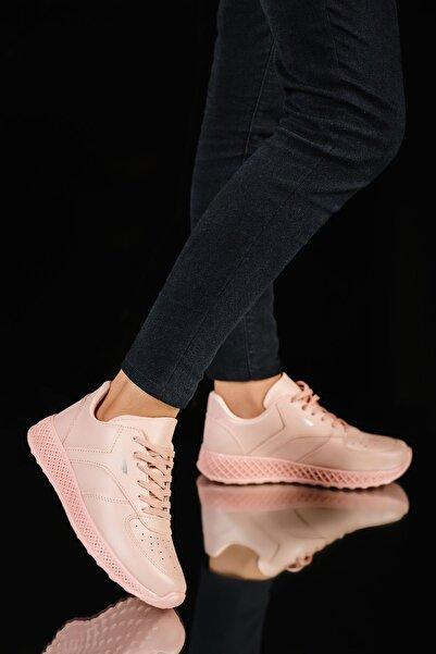MUGGO Kadın Pembe  Sneaker Ayakkabı