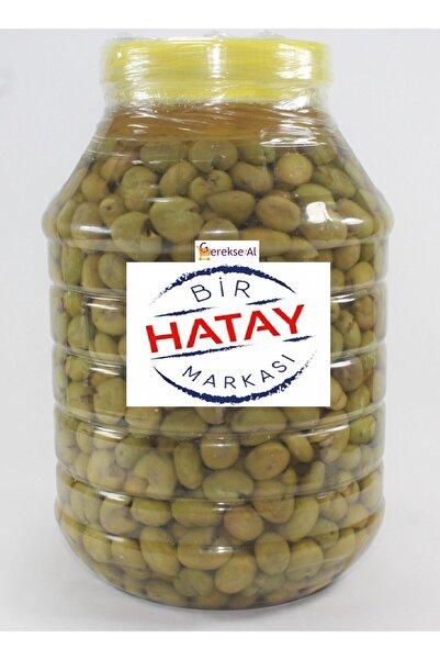 GEREKSEAL Antakya El Kırma Yeşil Zeytin 5 kg