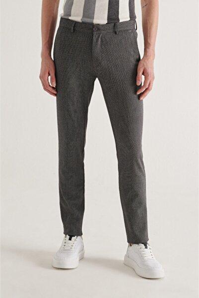 Avva Erkek Antrasit Yandan Cepli Armürlü Slim Fit Pantolon A11y3009