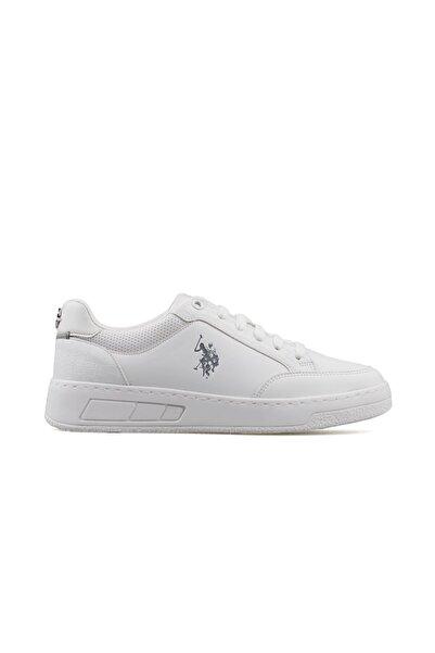 U.S. Polo Assn. SOLETA 1FX Beyaz Kadın Havuz Taban Sneaker 100910755