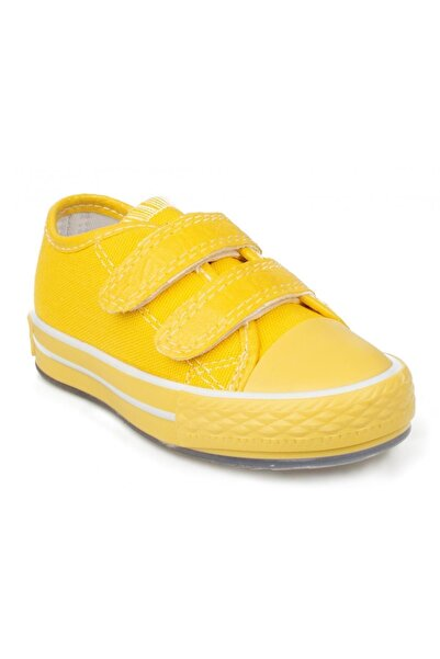 BUCKHEAD Buck4030 Chuck Çocuk Işıklı Sarı Keten Ayakkabı