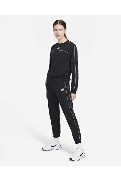 Nike Kadın Millennium Jogger Eşofman Altı - Siyah / Beyaz