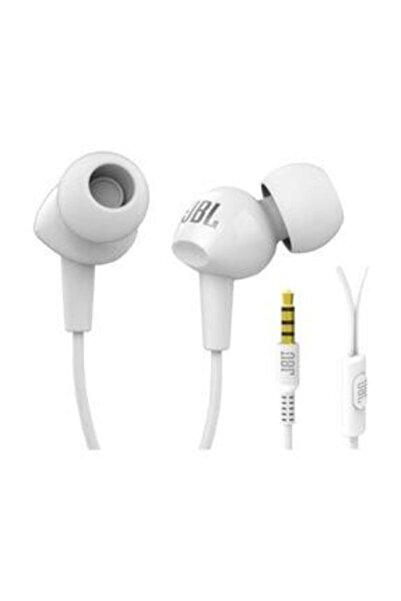 JBL C100sı Mikrofonlu Kulakiçi Kulaklık Beyaz