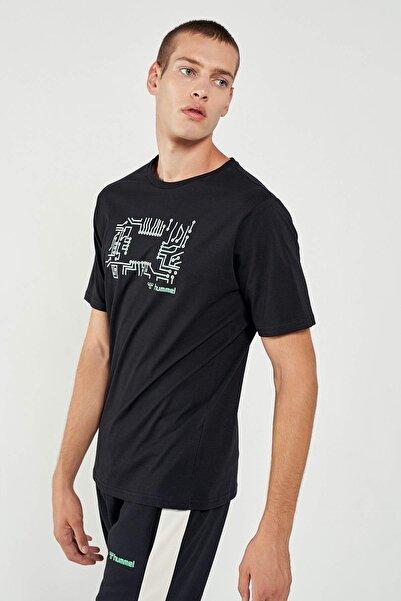 HUMMEL HMLWARGO Siyah Erkek T-Shirt 101085893