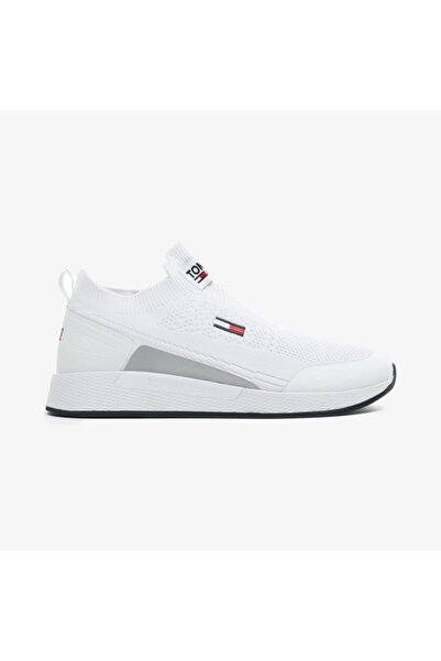 Tommy Hilfiger Erkek Beyaz Sneaker
