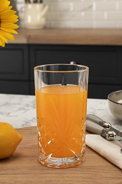 Madame Coco Aron 4'lü Meşrubat Bardağı Seti 370 ml