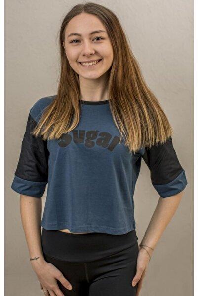 Exuma Kadın Mavi Sugar T-shirt