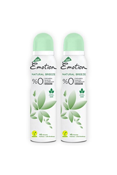 Emotion Natural Breeze Deodorant 2x150ml
