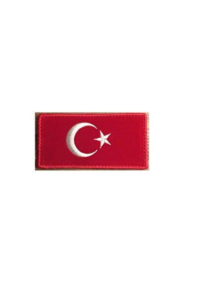 Gazi Ticaret Türk Bayrağı - Bayrak 12x6cm.patches,patch,peç,arma