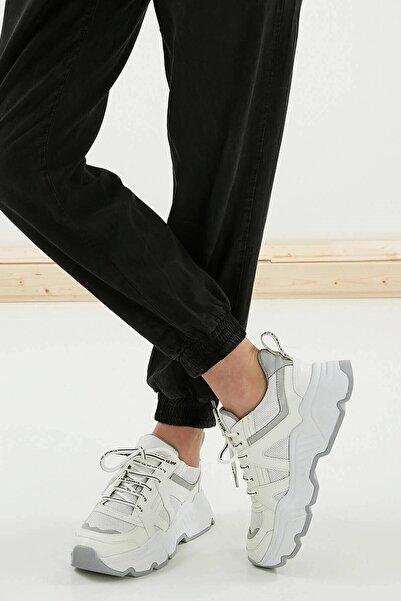 Mio Gusto Kadın Beyaz Sneaker