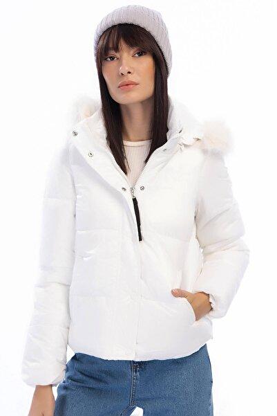 Vero Moda Kadın Beyaz Ceket 10202800