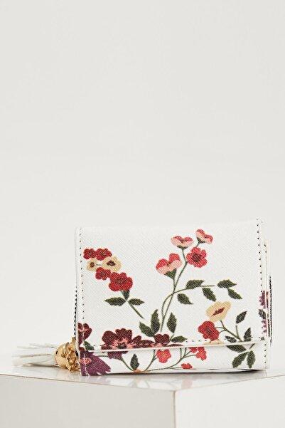 DeFacto Çiçek Desenli Cüzdan