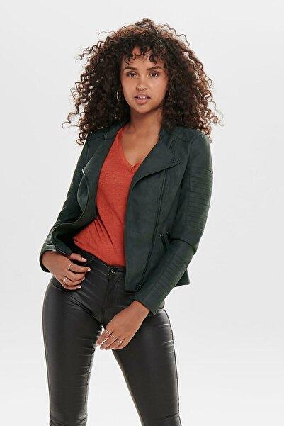 Only Kadın Siyah Antrasit Ceket