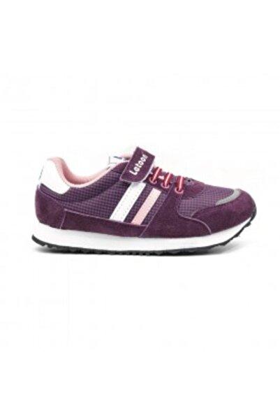 LETOON Kız Çocuk Mor Spor Ayakkabı 2413
