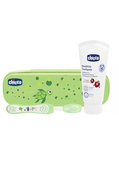 Chicco Diş Fırçası Seti Yeşil