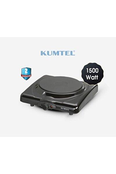 KUMTEL Lx-7115 Siyah Tekli Elektrikli Ocak Ayarlanabilir Termostatlı Elektrikli Ocak