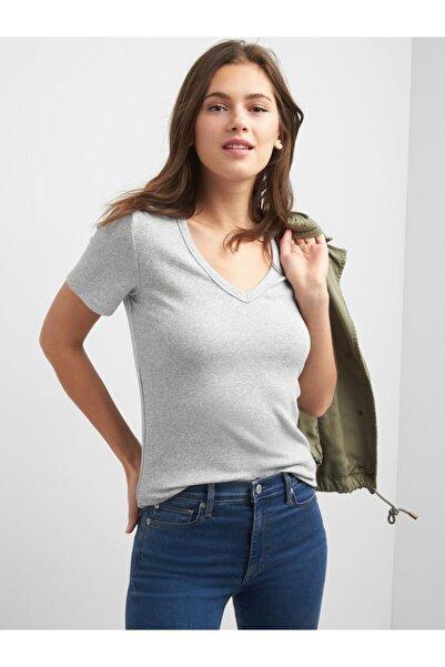 GAP Modern V Yaka T-shirt