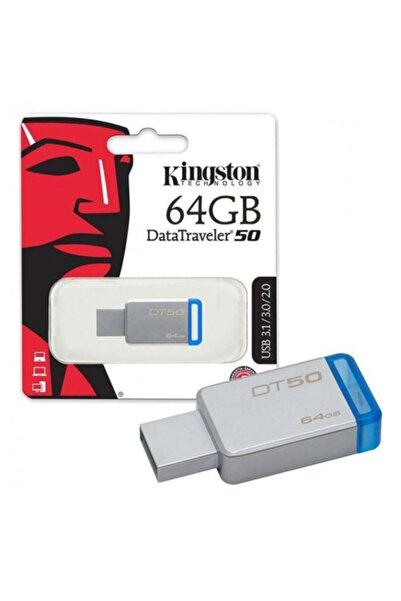 Kingston Kıngston Dt50/64gb Usb3.1 Datatraveler50 Flash Disk