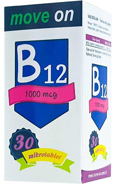 Move On Vitamin B12 1000 Mcg 30 Dilaltı Mikrotablet Skt:2024