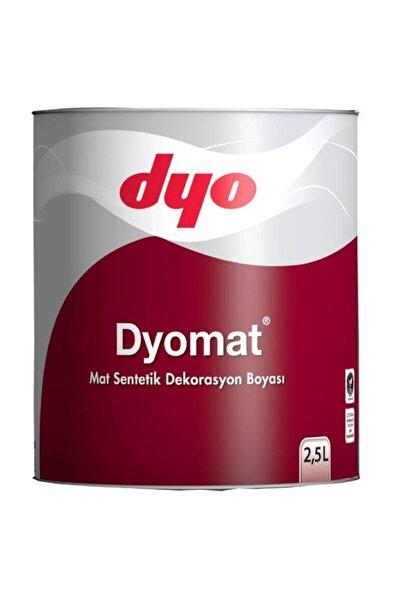 Dyo Mat Mat Dekorasyon Boyası 2,5 Litre Siyah