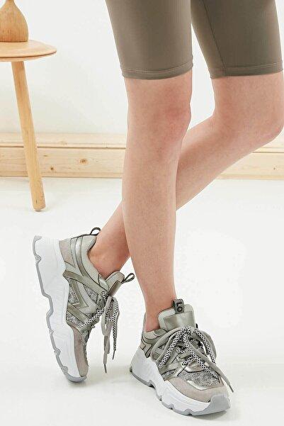 Mio Gusto Gail Gümüş Sneaker