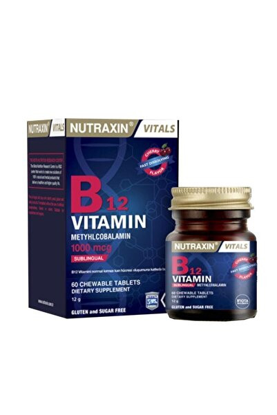 Nutraxin Vitals B12 Vitamin 60 Tablet