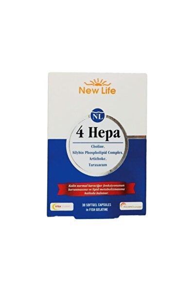 New Life 4 Hepa  Multivitaminler (devedikeni,enginar,kolin ve Karahindiba Içeren Takviye Edici Gıda)