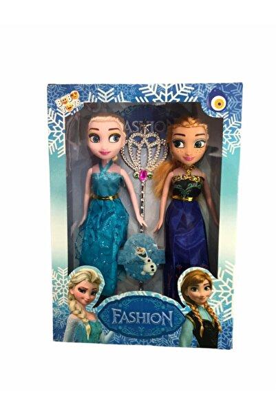 Frozen Karlar Ülkesi Elsa Anna 2 Li 26 cm x 19 cm
