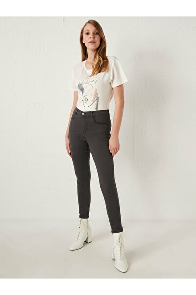 LC Waikiki Kadın Gri Jeans