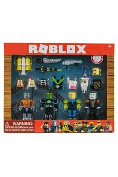 Robos Roblox Benzeri 4 Lü Figür Karakter Seti 48175