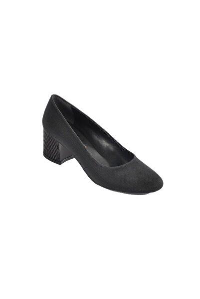 Maje 5001 Siyah Kadın Topuklu Ayakkabı