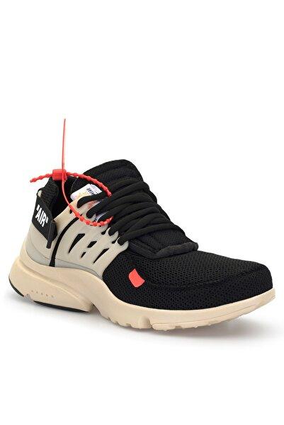 DARK SEER Unisex Bej Siyah Sneaker AIR.DS