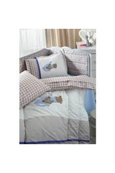 Altınbaşak Bebek Sleep Bear Nakışlı Nevresim Takımı